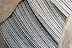 Алюминиевая проволока в бухтах